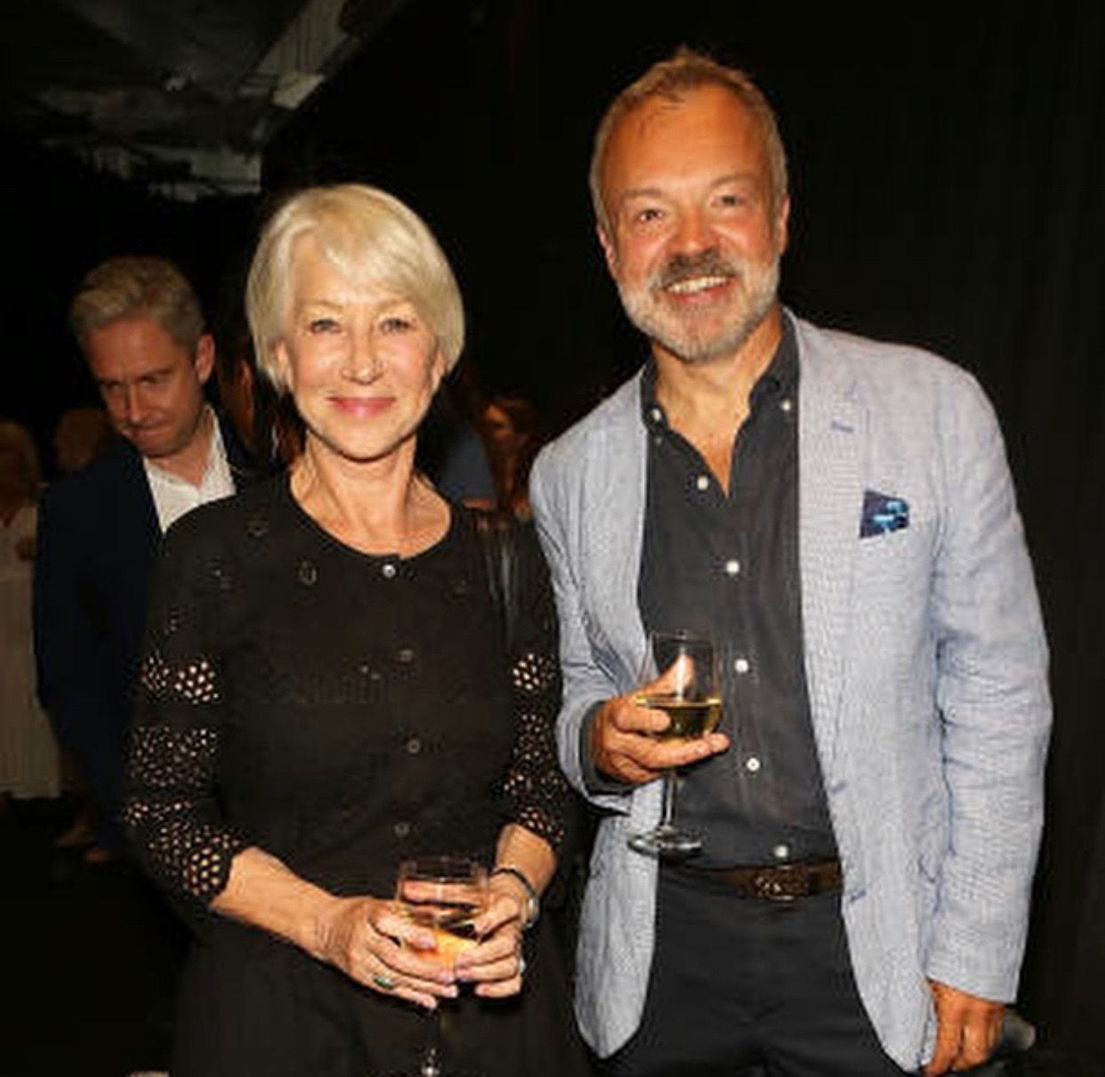 Love Helen Mirren & Graham Norton...  both are amazing, funny, smart and just all-around talented people.