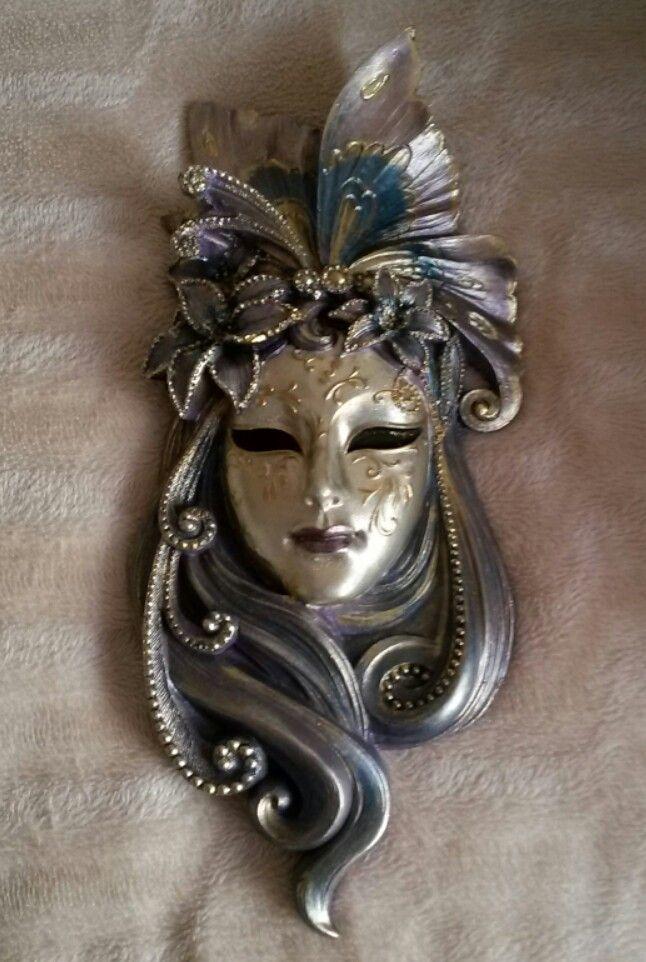 Kumdanseyler Mask Dekorasyon Duvarsusu Polyesterboyama Kendinyap Elyapimi Maske Instasell Instaartist Boyama Maskeler Sanat Kulubu Aluminyum Folyo Sanat