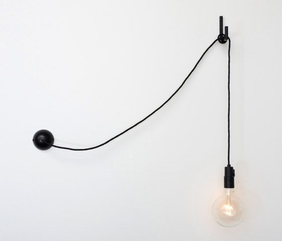 Pendant Light Cable: Atelier Areti Hook-light Pendant Light Wall Light