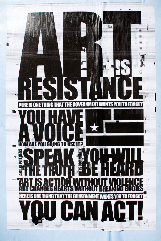 Nine Inch Nails Year Zero Art Is Resistance Poster In 2020