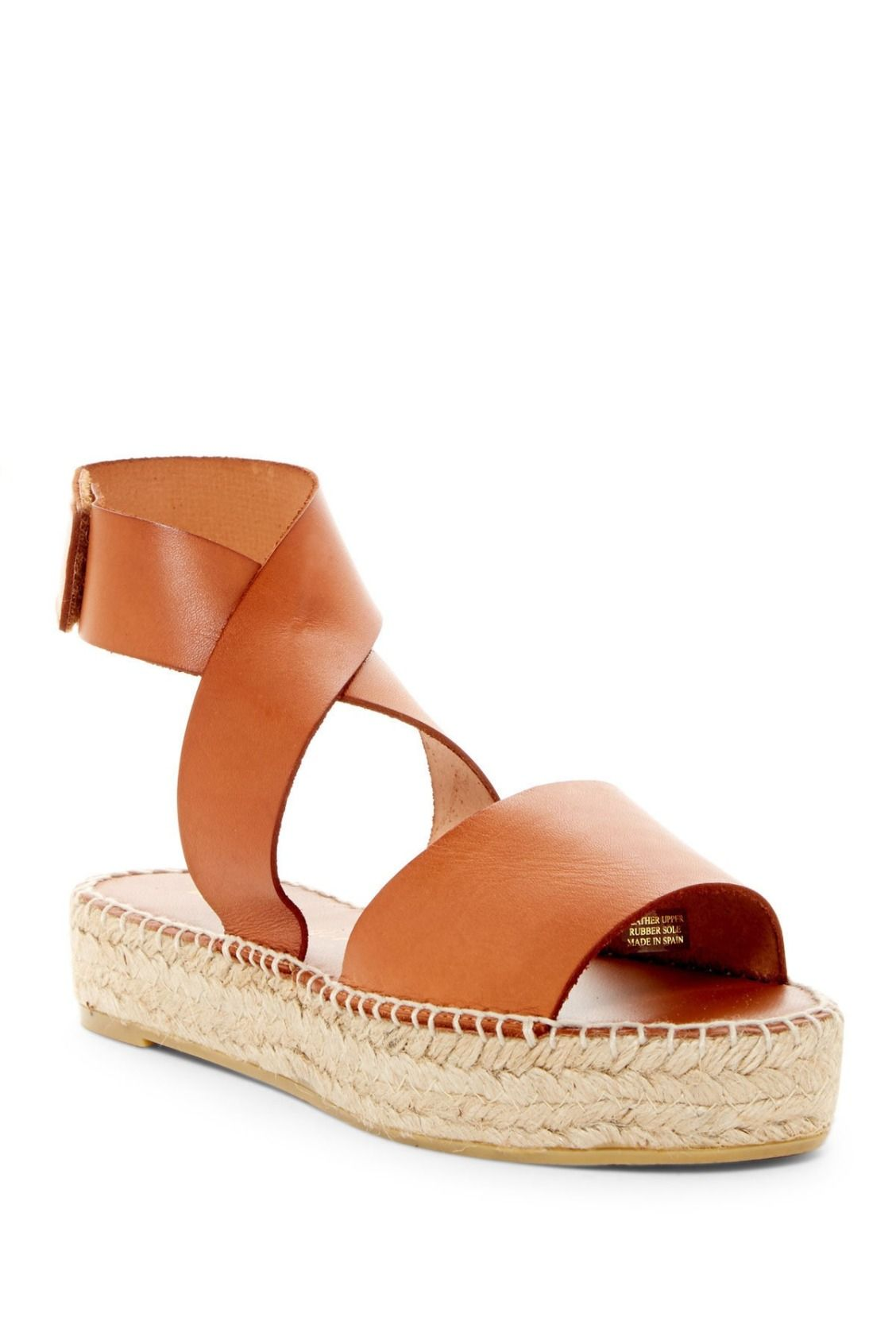 8c9f5bc033a Need these tan Bettye Muller Seven Espadrille Platform Sandals for ...