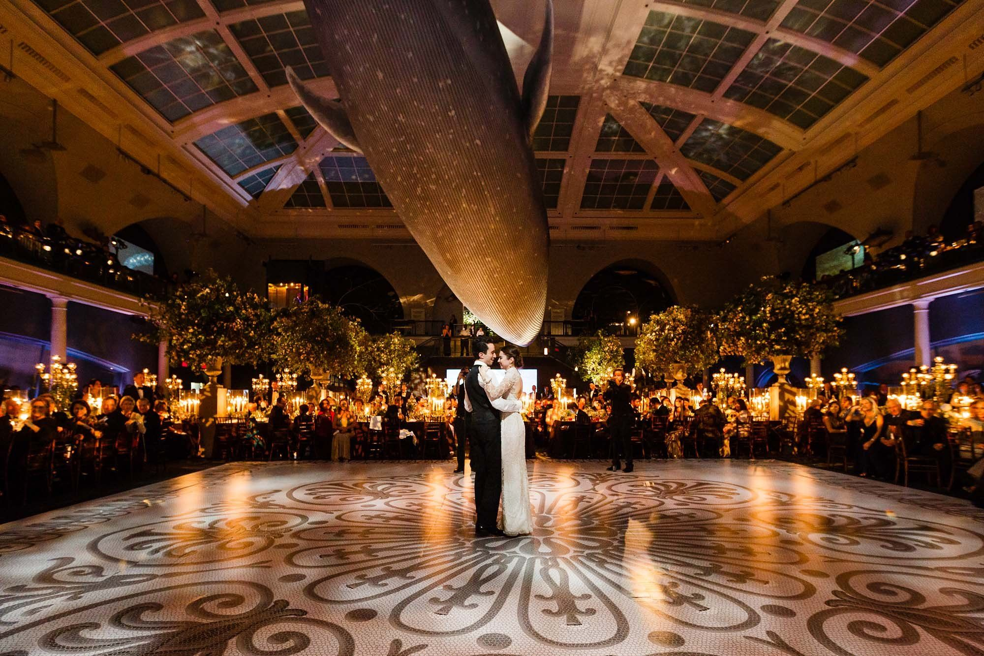 Elizabeth Fisch And Michael Dishis Wedding At The American Museum Of Natural History