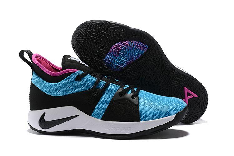 b79234fb07581 Men's Nike PG 2 Blue Lagoon/Hyper Violet-White AJ2039-402 Free Shipping