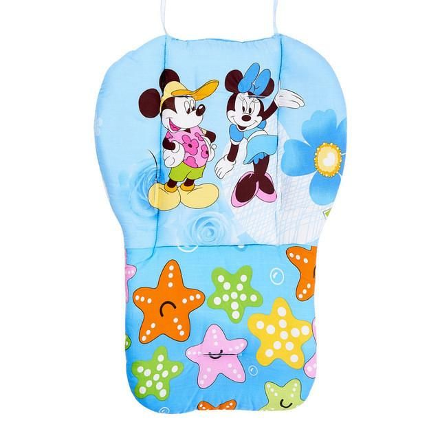 Hot 2016 New Thick Warm Waterproof Cotton Newborn Cute Cartoon Baby Stroller Seat Pad Baby Stroller Accessories Chair Cushion Mother & Kids