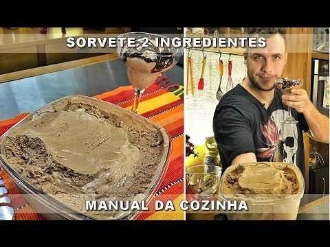 Como Fazer Sorvete 2 Ingredientes Da Ana Maria Braga Manual Da