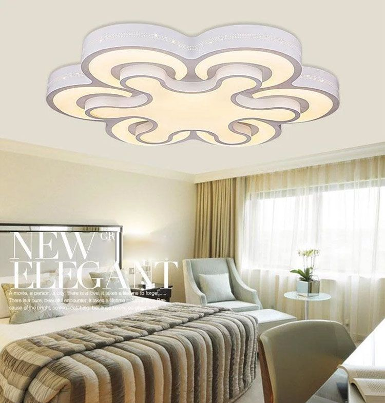 New Acrylic Modern Led Ceiling Lights For Living Room Bedroom Plafon Led  Home Lighting Ceiling Lamp
