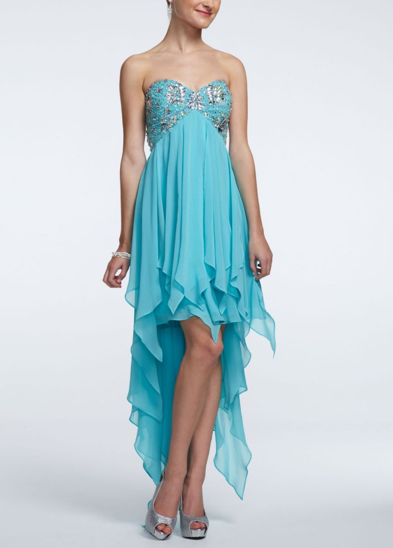 Green dress prom   so cute still want purpl  weddings  Pinterest  Prom Grad