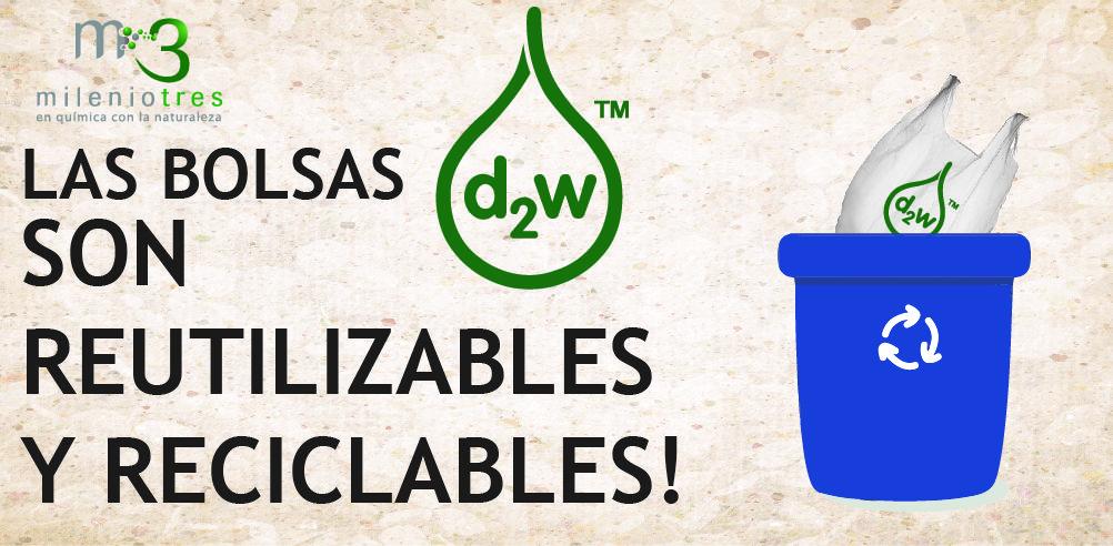 El plástico Oxo-biodegradable d2W se disuelve por completo en la