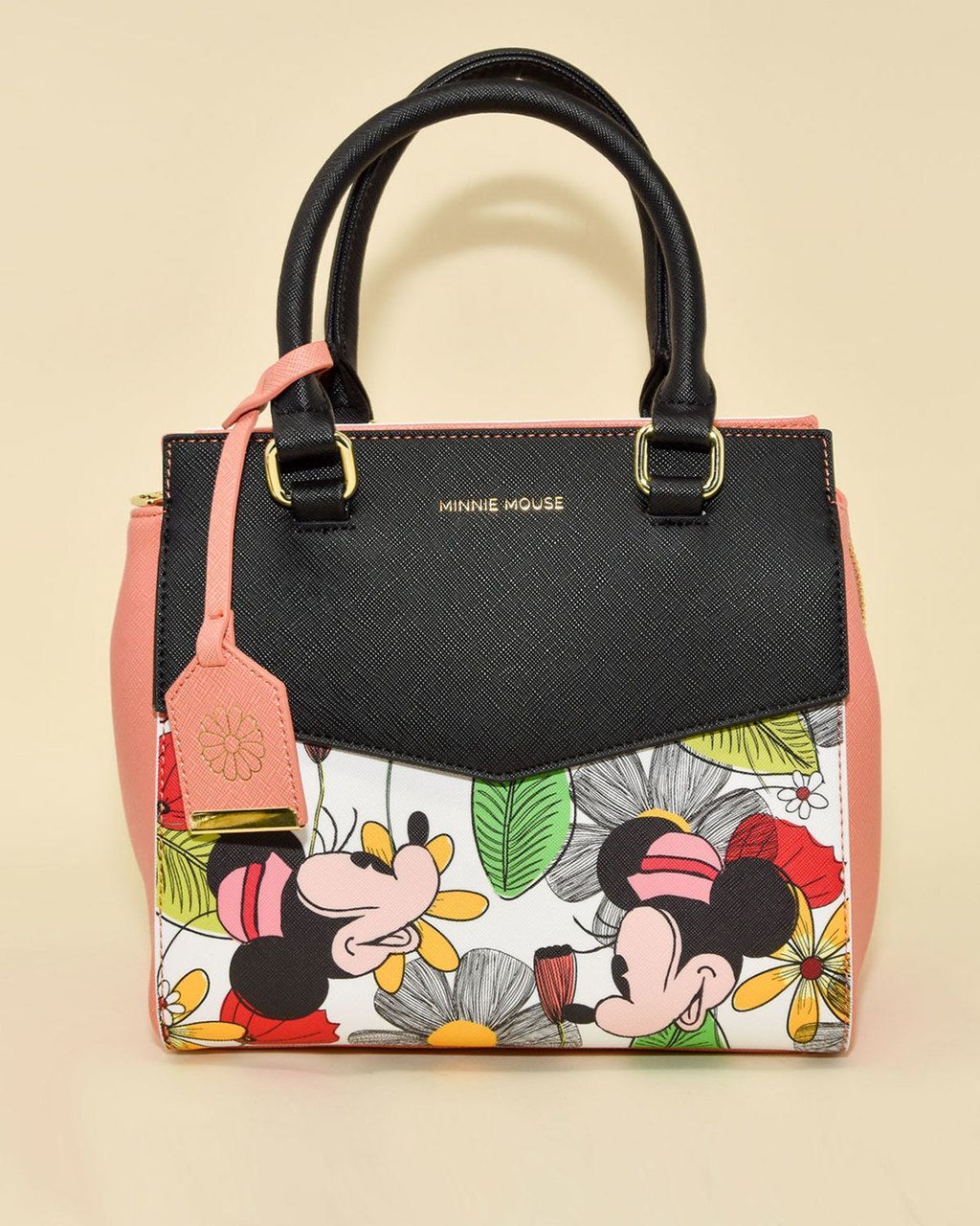 f11fc80376 Loungefly x Disney s Vintage Minnie Mouse Floral Handbag in 2019 ...