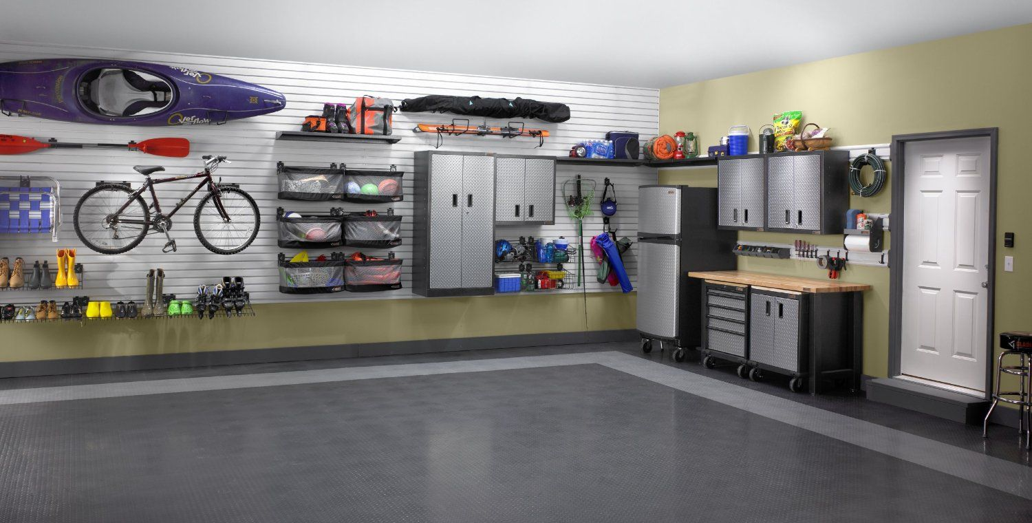 Garage organization tips new home designs the best garage - Gladiator Tile Flooring Packs Interested In Creating An Upscale Look For Your Garage Floor That Will Turn The Biggest Room In Your Home Into A Real