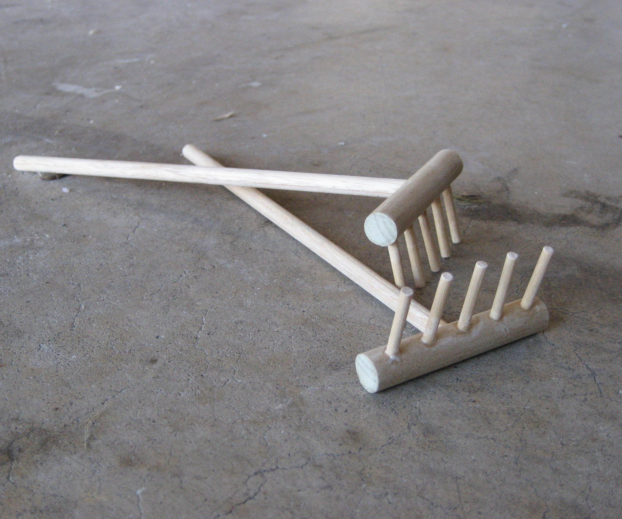 Make A Zen Garden Rake For Your Ashtray Miniature Zen Garden
