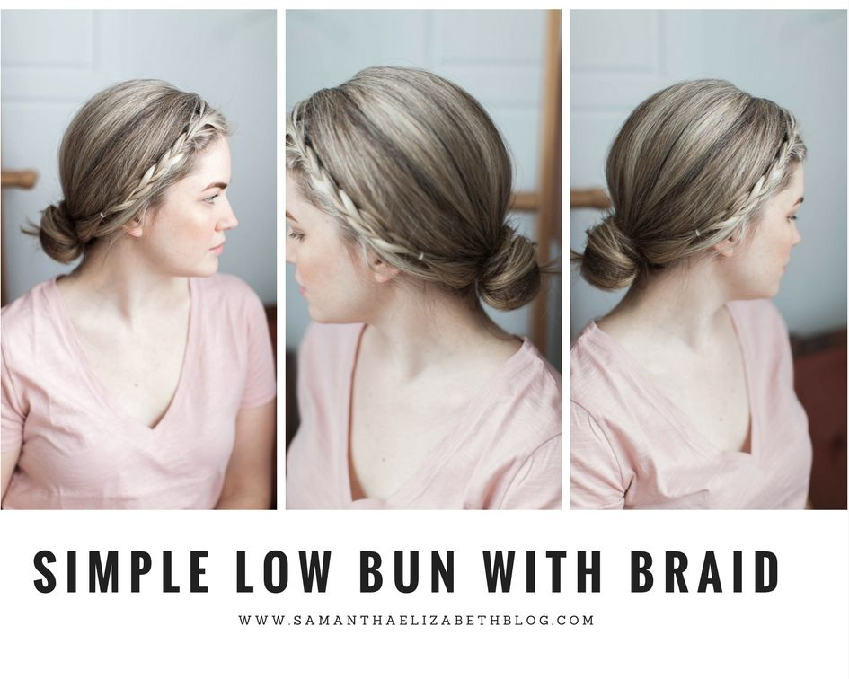 2 Minute Hairstyles Simple 2 Minute Hairstyles  Samantha Elizabeth Lifestyle Blog