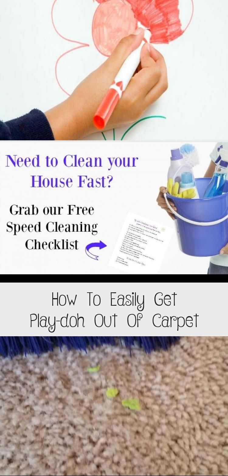 How To Easily Get Play Doh Out Of In 2020 How To Clean Carpet Commercial Carpet Cleaning Getting Played