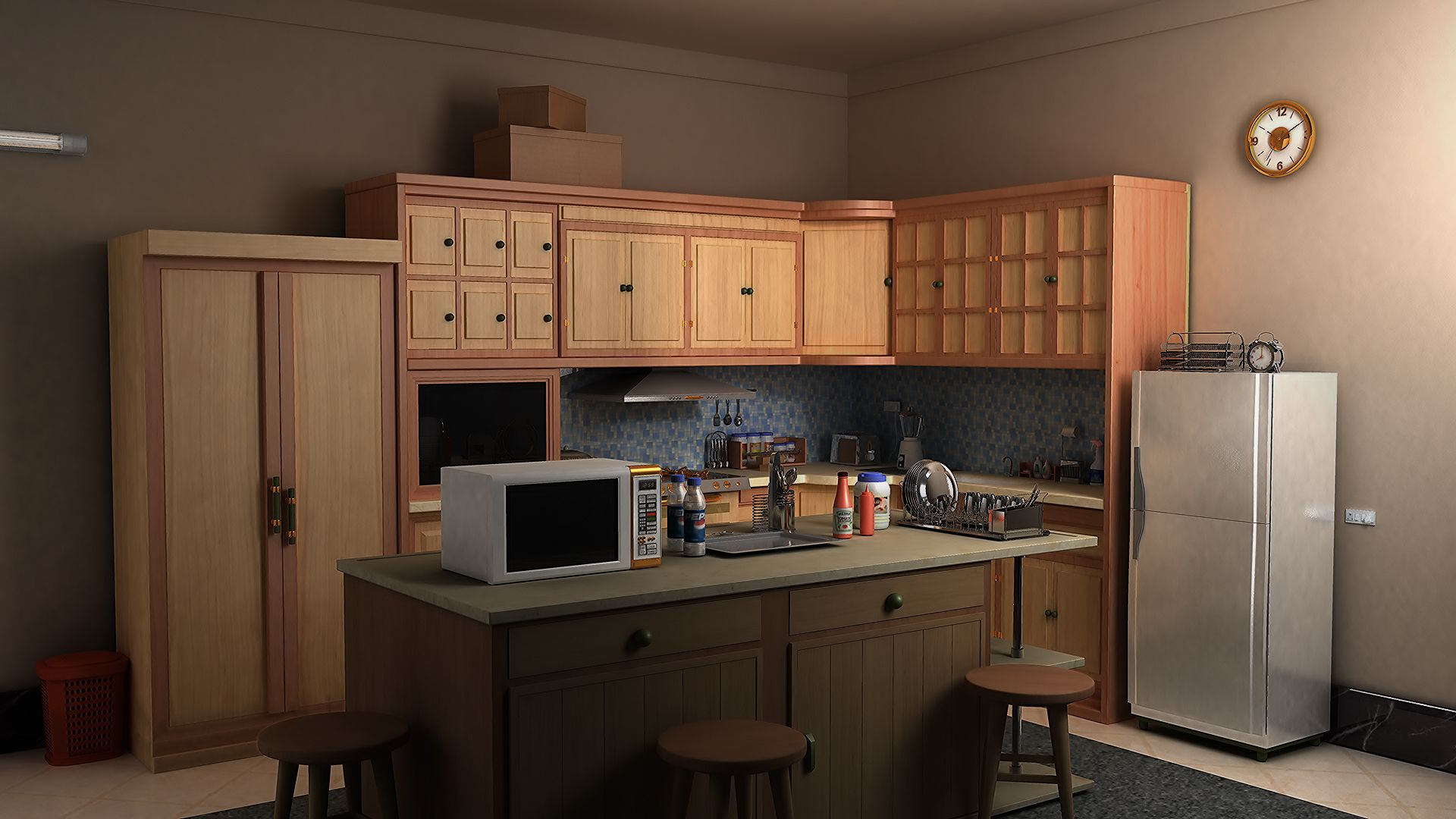 Japanese traditional kitchen google search desolation for 3d kitchen cabinets