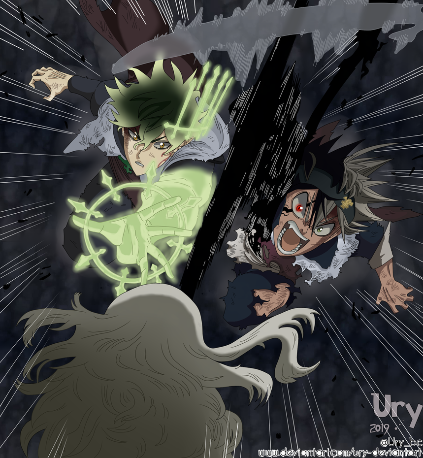 Black Clover Asta Y Yuno Vs Licht Anime Wallpapers Black clover manga chapter 145 discussion and 146 predictions. black clover asta y yuno vs licht