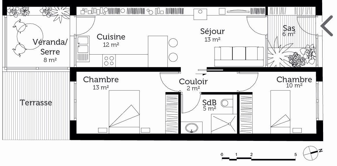 Plan Maison En Longueur Meilleur De Plan Maison Plain Pied Gratuit Plan Maison Plain Pied Plan Maison Maison Plain Pied