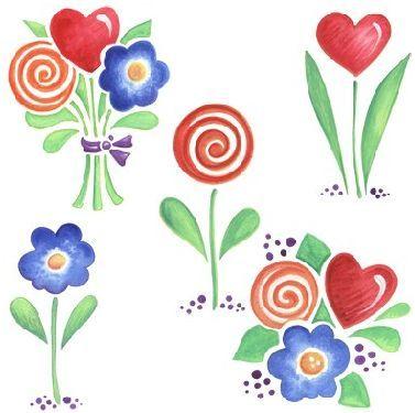 Con estas Imagenes de flores para imprimir se pueden decorar ...