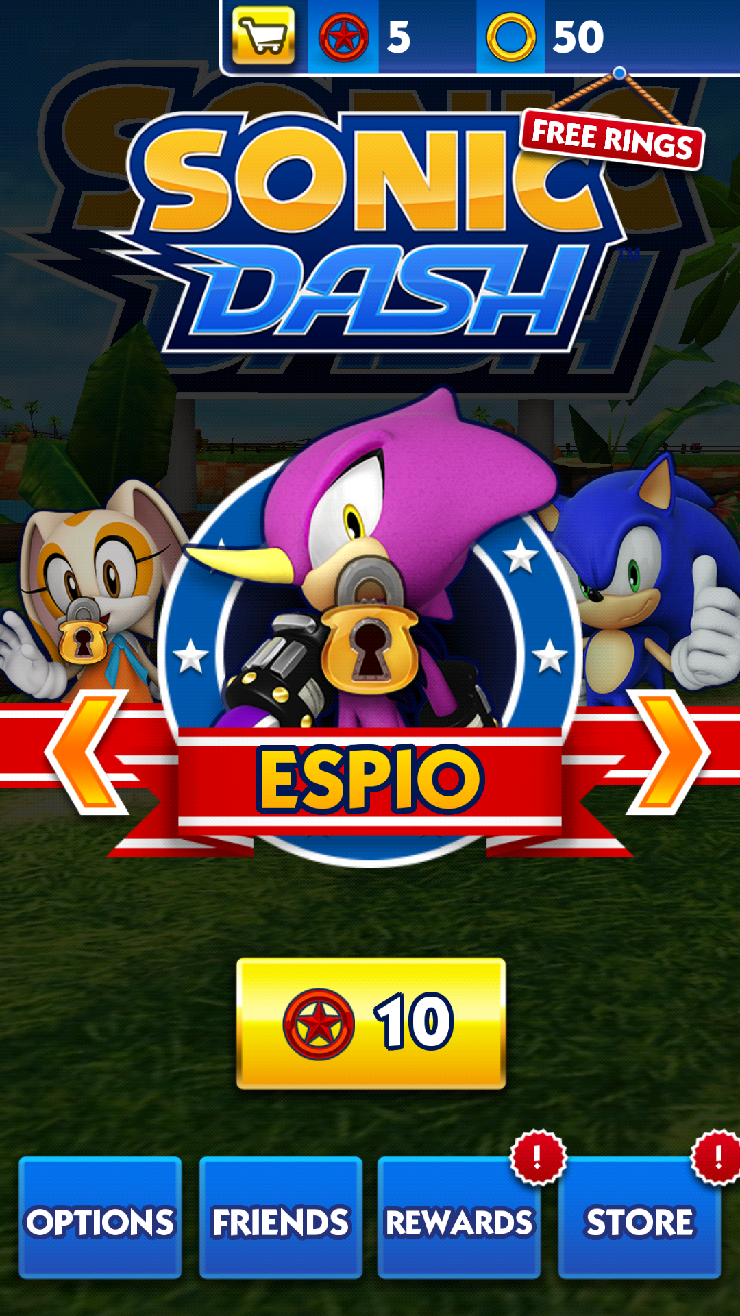 Image result for sonic dash character select Sonic dash
