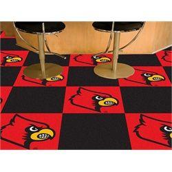 Louisville cardinals carpet tiles flooring game room kids louisville cardinals carpet tiles flooring ppazfo