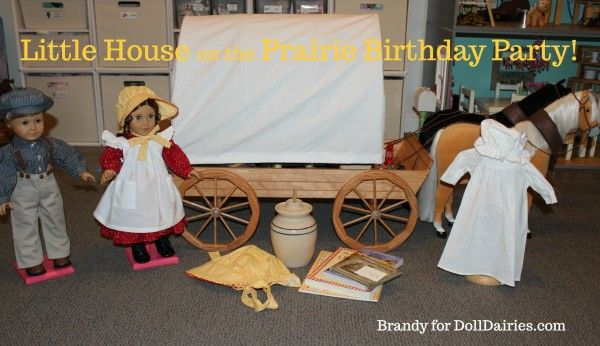 SOOOO awesome!!!  I am totally doing this!!!   Little House on the Prairie Doll Birthday Party