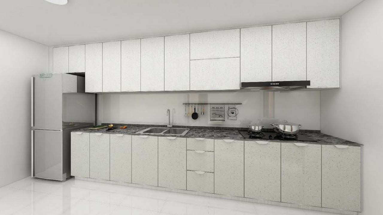 Aluminium Kitchen Cabinet Singapore Contractor In 2019 Santhosh
