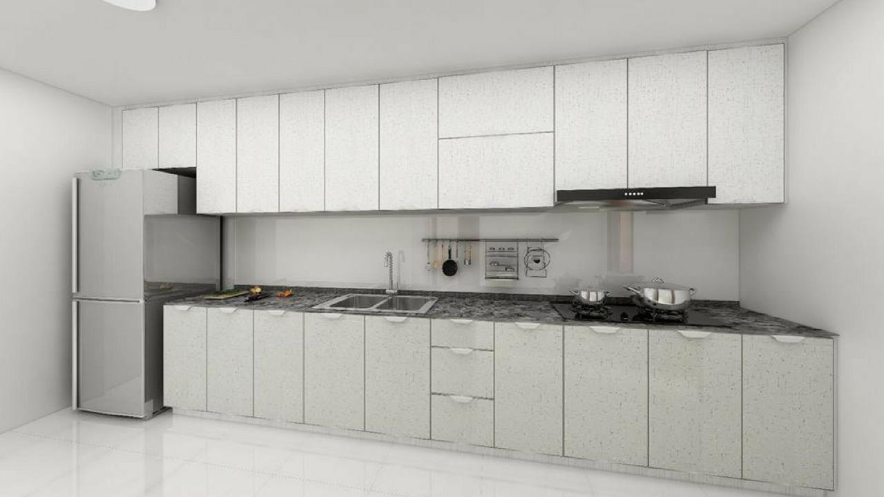 Aluminium Kitchen Cabinet [ Singapore Contractor