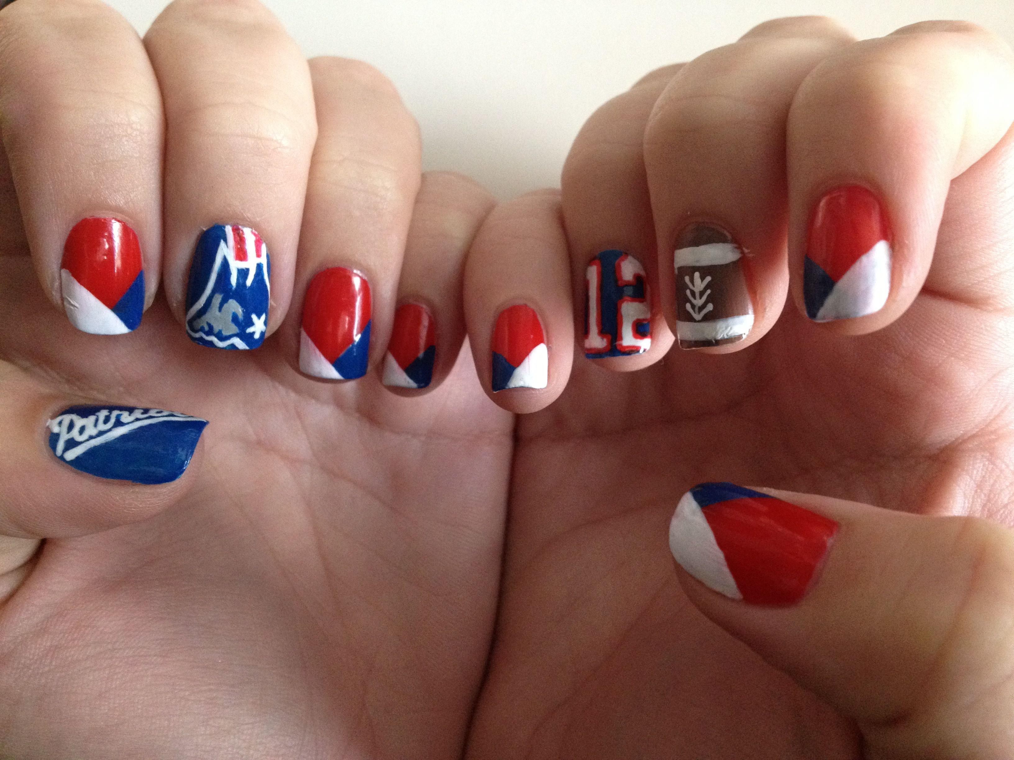 patriots | Patriots Nails | Pinterest | Patriots, Fun nails and Makeup