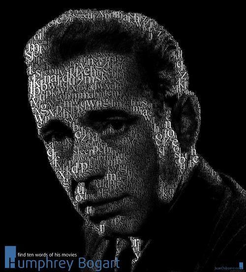 Bogart-typography-portrait