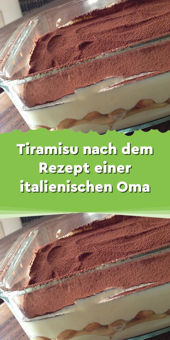 Tiramisu nach dem Rezept einer italienischen Oma #löffelbiskuitrezept