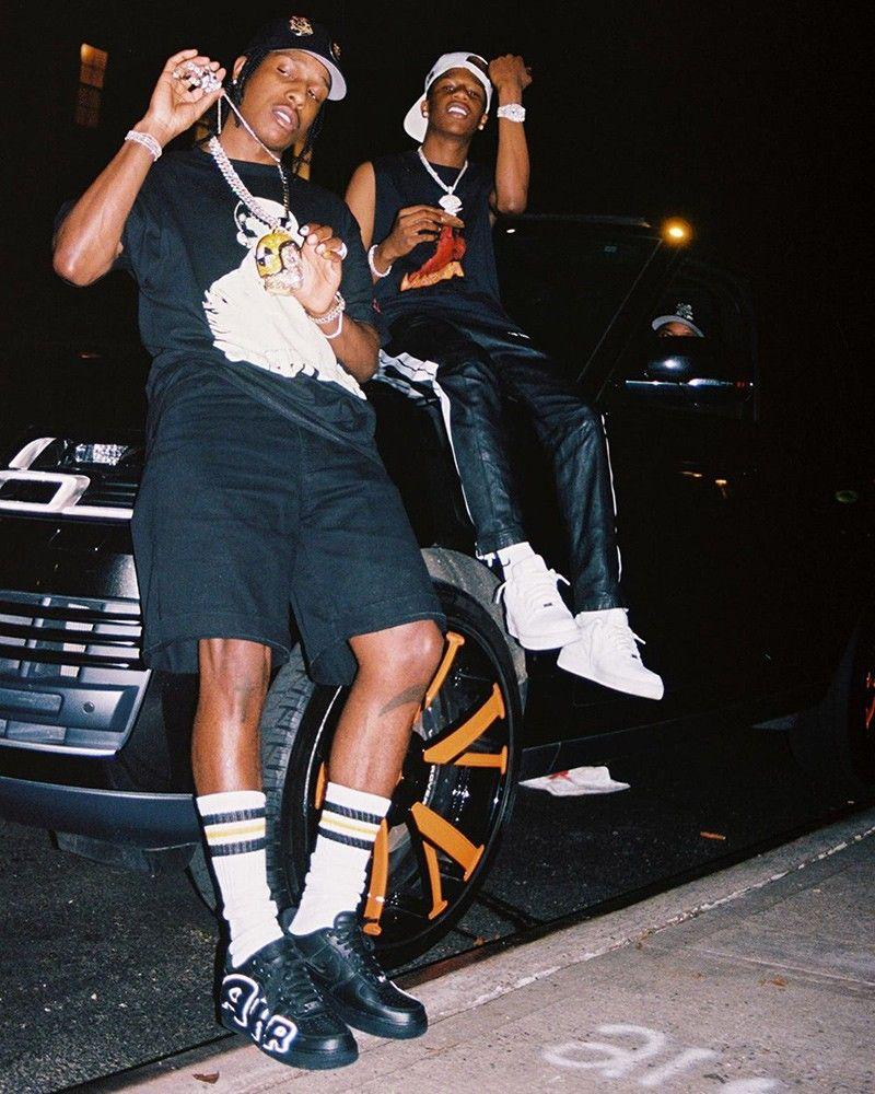 A$AP Rocky Reveals Triple Black CPFM x Nike Air Force 1