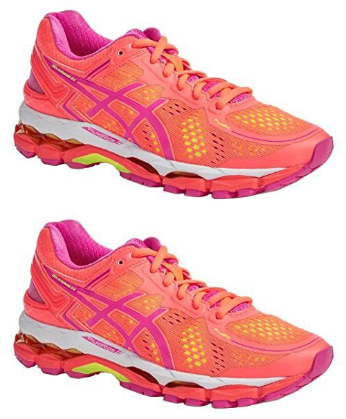 Chaussure Kayano de course ASICS Gel Kayano 22 pour pour femme US B (M) US , Coral/ Pink 399dc42 - propertiindonesia.site