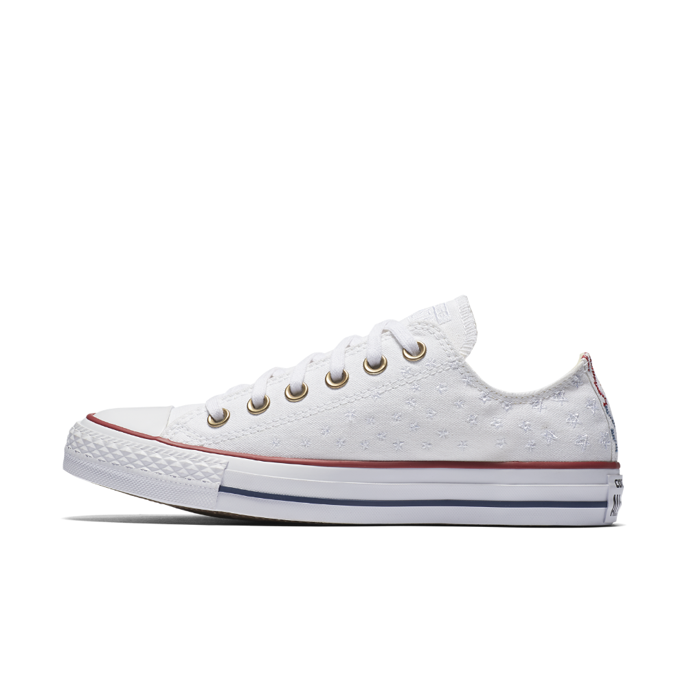 7cbc603e1853 Converse Chuck Taylor All Star Americana Embroidery Low Top Women s Shoe  Size
