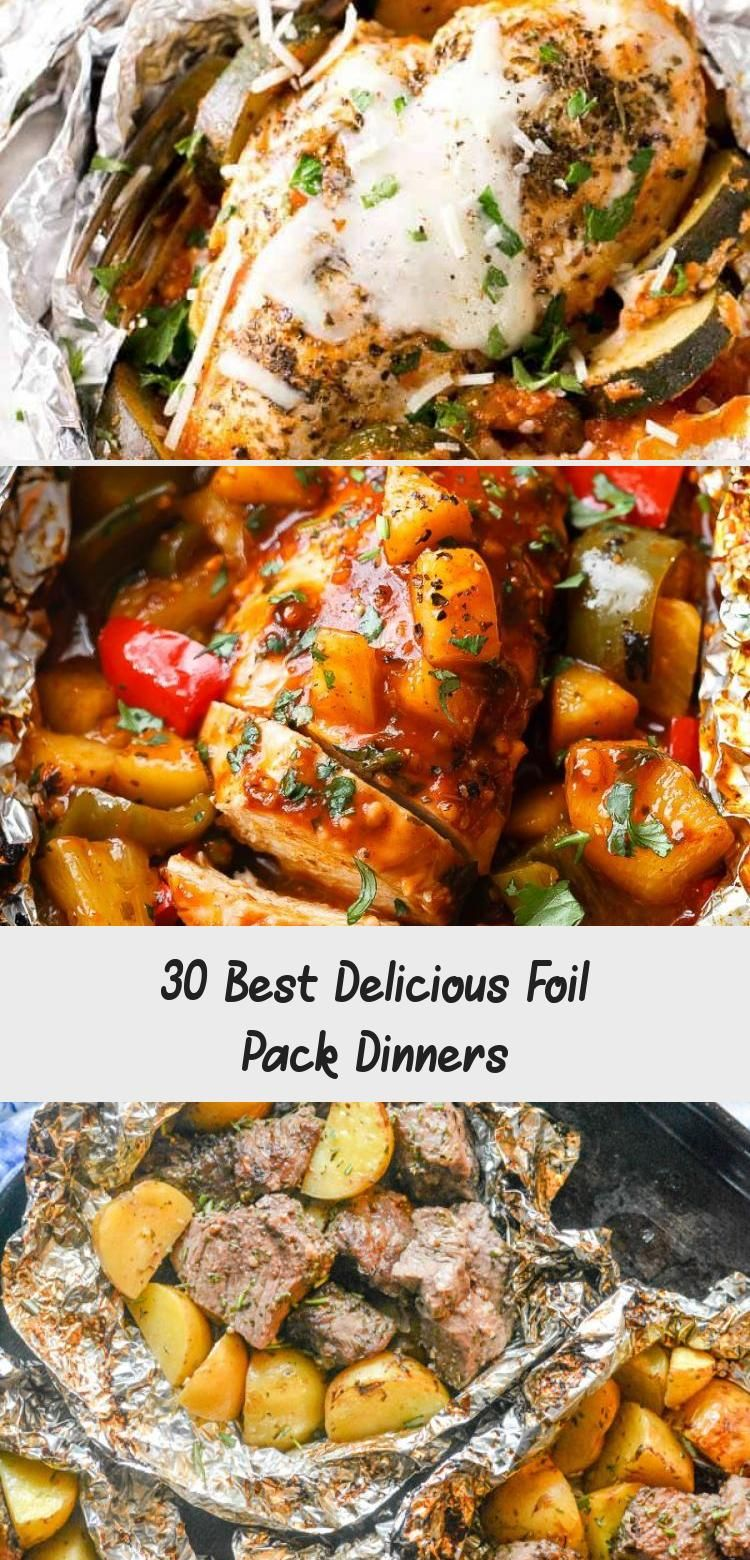 30 Best Delicious Foil Pack Dinners – Clean Recipes