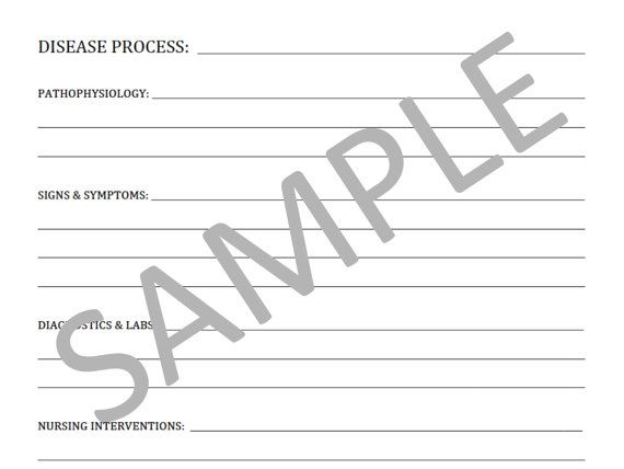 Blank Template For Notes - PDF File School notes, Nurse life and - nursing note template