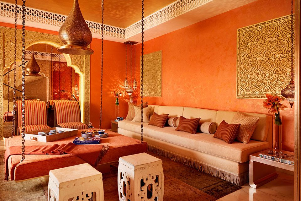 A Global Perspective On Interior Design Moroccan Living Room
