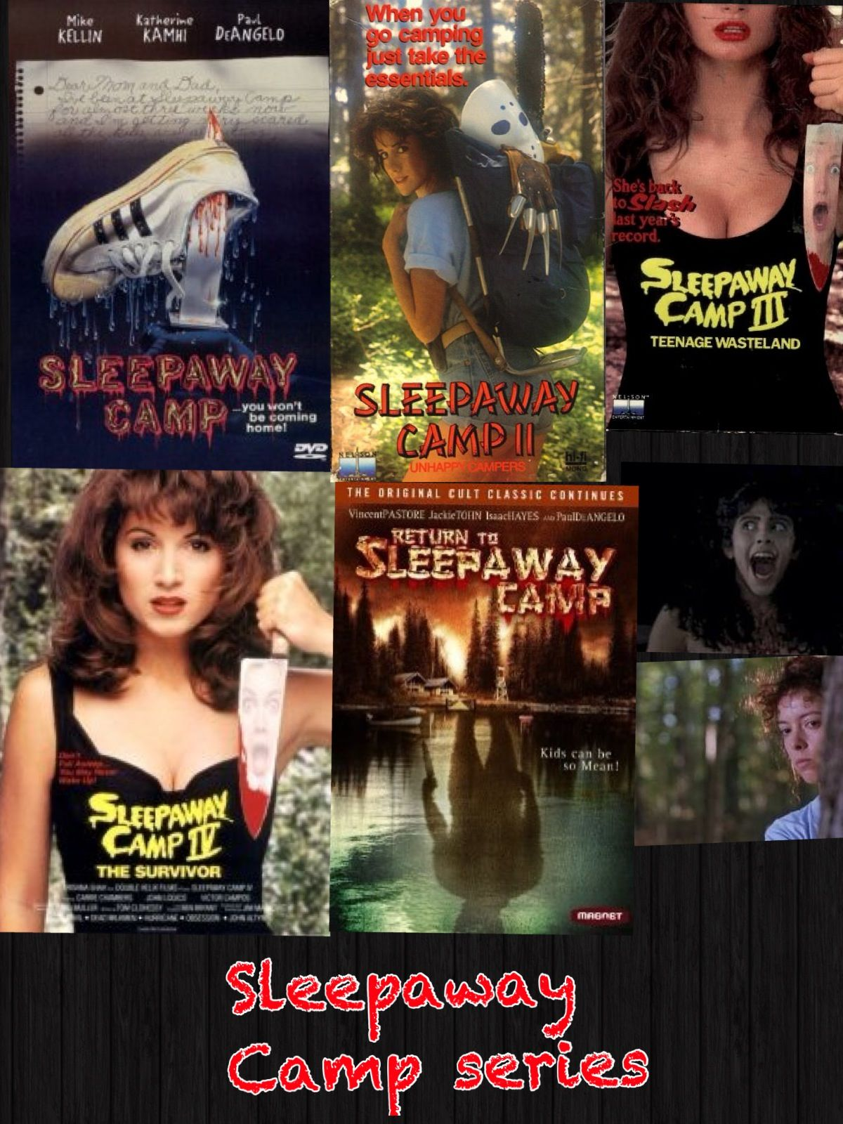 Probably, camp teen slasher movie what