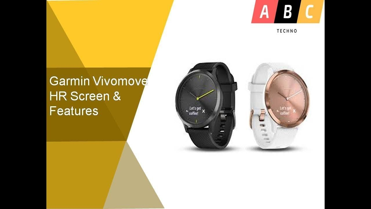 Garmin Vivomove HR Screen & Features | Wearables | Release