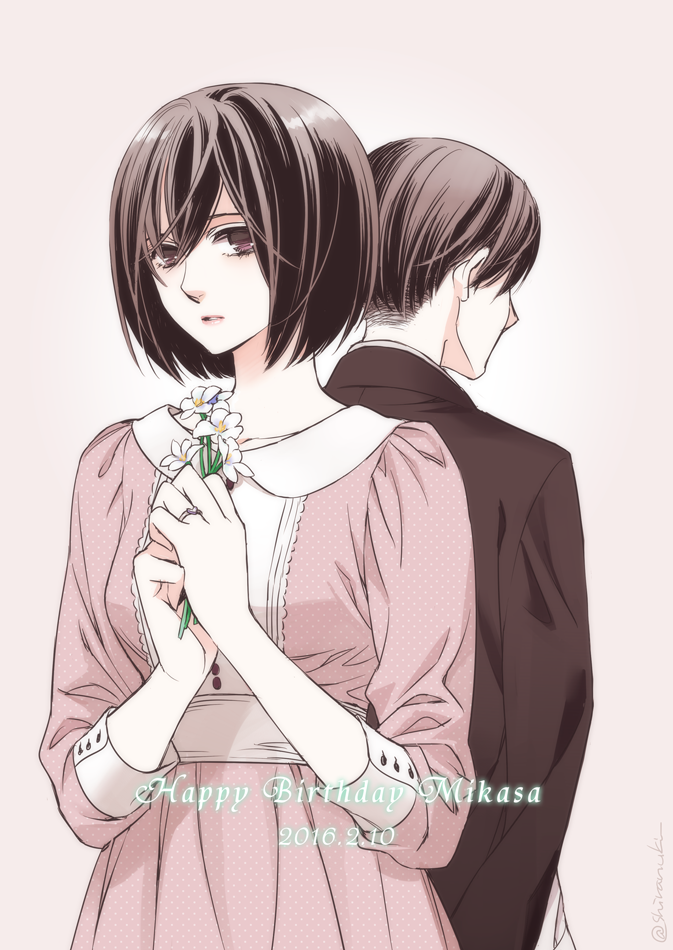 Shingeki no Kyojin | Rivamika — Mikasa and Levi | Tumblr ...