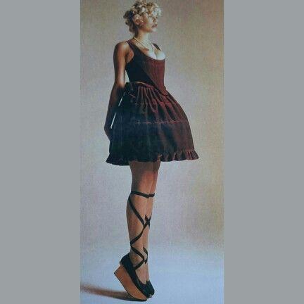 Sara Stockbridge - Vivienne Westwood - Mini Crinni - Corset - Rockinghorse Ballerina Shoes  Best in British fashion