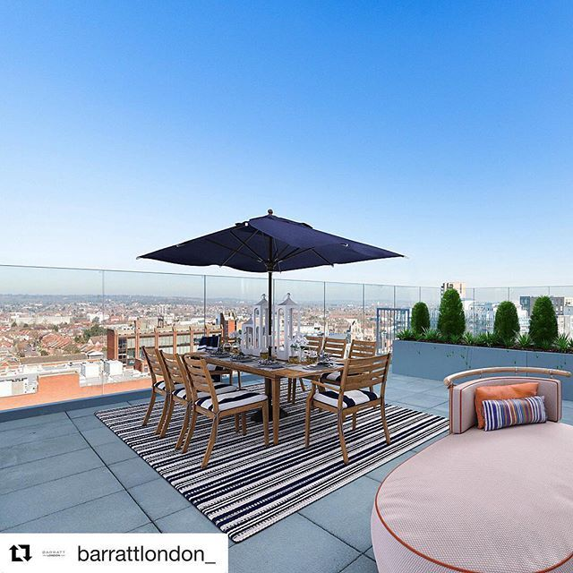#Repost @barrattlondon_ A terrace with views to be proud ... on Virtual Patio Designer id=58651