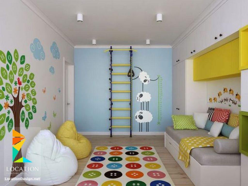الوان غرف اطفال مودرن تناسب الجنسين 2018 2019 Kids Rooms لوكشين ديزين نت Scandinavian Kids Rooms Kids Room Design Kids Bedroom Inspiration