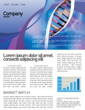 technology science computers double spiral newsletter template