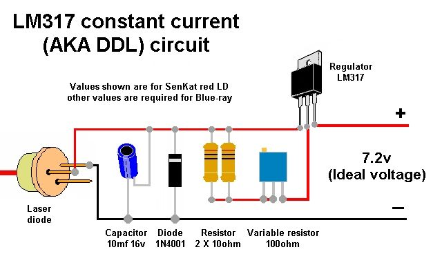 Help With Making Diode Driver Laser Pointer Forums Discuss Laser Pointers Electrical Engineering Books Circuit Electrical Circuit Diagram