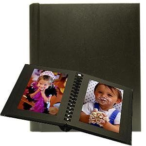 Professional Parade Black Slip In Mat Photo Album For 20 Prints
