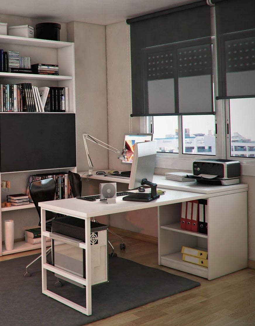 Extraordinary Built In Cabinets And Desk Inspirations For Home Office Di 2020
