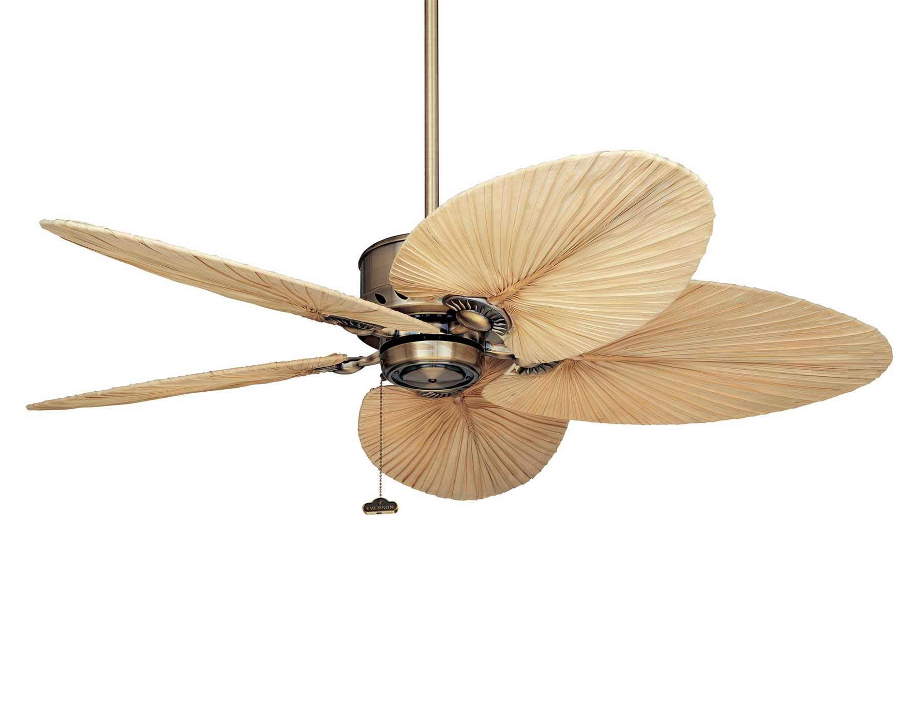 Palm Leaf Ceiling Fan Blades Covers In 2020 Tropical Ceiling