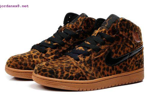 e1ac7485c7a5 Cheetah Print Jordans 1 High Olympic Leopard Brown #cheap #nike #shoes