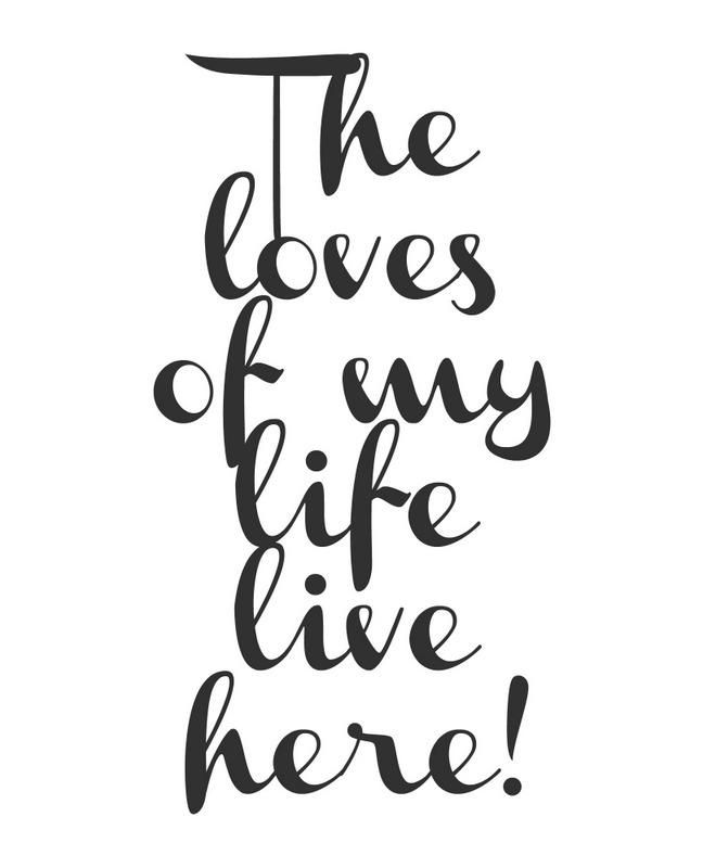 Clipboard Wall Art with Free Printables Quotes to Inspire
