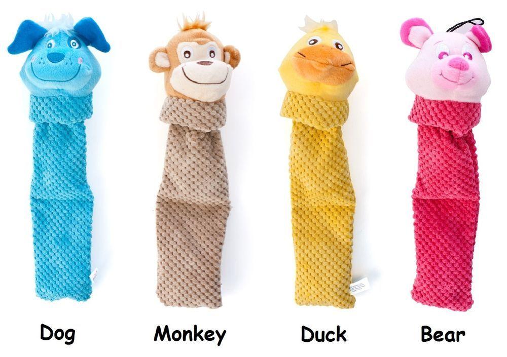 Fs Kyjen Plush Puppies Invincibles Flappy Plush Squeaker Durable