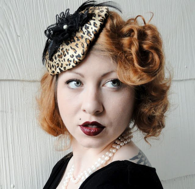 I absolutely love the hat fastener idea! i dont like the leopard print, just the idea of it for the bridesmaids :)